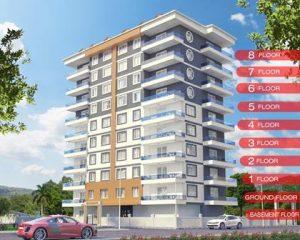 3d3 bina 300x240 Mahmutlar Satılık Daire   SKY BLUE+PLUS