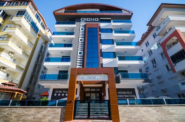2 Alanya satılık daire ( STAR PALACE RESİDENCE )