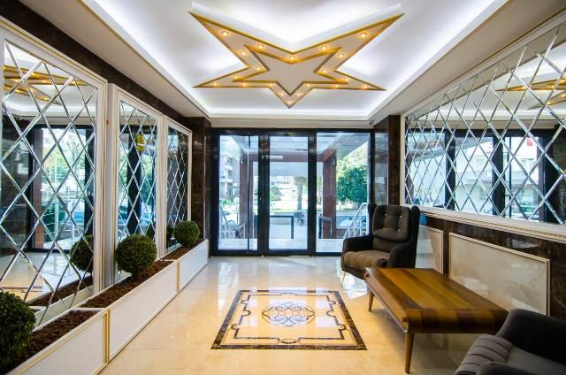 4 Alanya satılık daire ( STAR PALACE RESİDENCE )